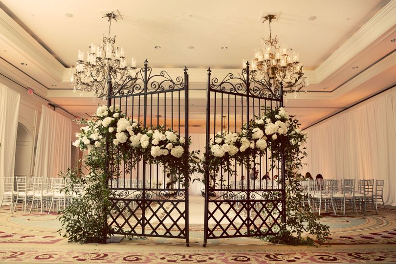 Indoor wedding venue