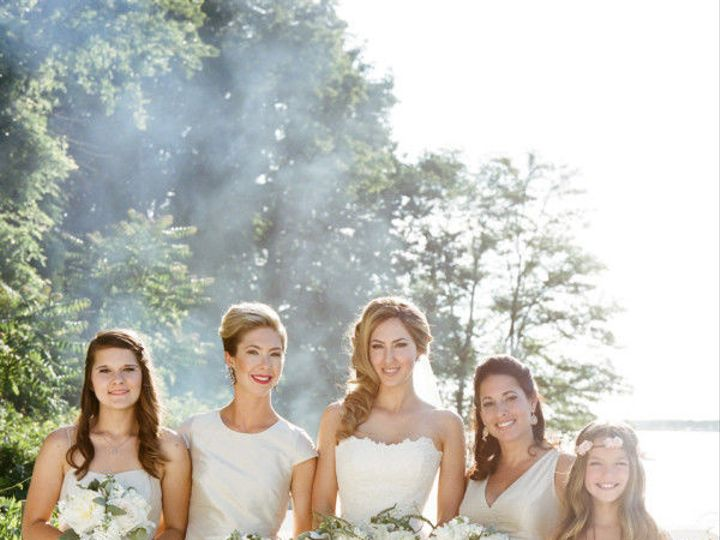 Tmx 1503413207 5a983d9504e06531 1503412934437 Bridesmaids In Pale Taupe 600x819 Huntington, NY wedding florist