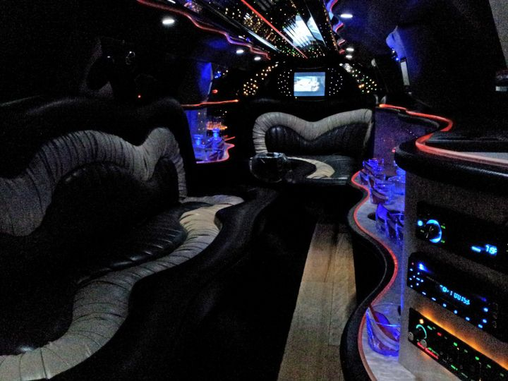 Tmx 1508738715605 Lincoln Limousine Interior At Night 2edit Madison wedding transportation