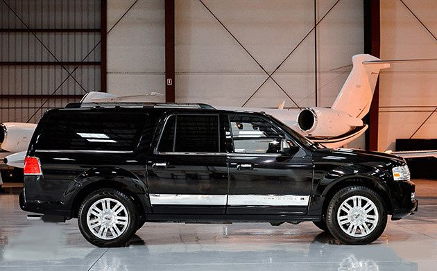 Tmx 1508738968283 Lincoln Navigator Side In Hangar Madison wedding transportation