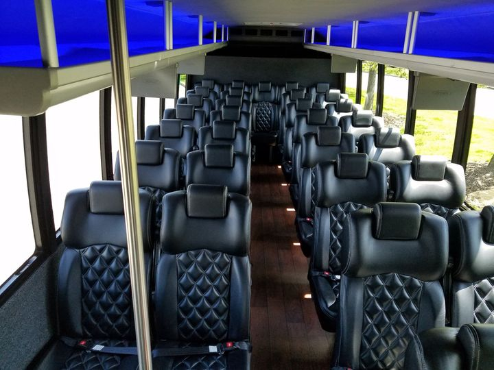 Tmx 1508739313321 F 650 Executive Coach Bus Interior Madison wedding transportation