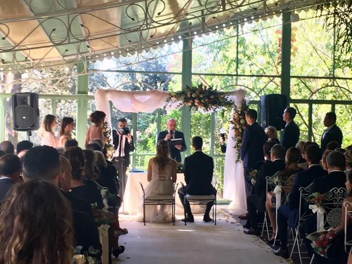 Wedding homily ongoing