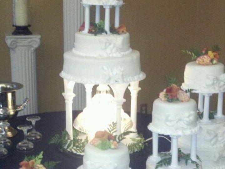Tmx 1531896164 8026930637db8906 1531896163 22fd950f932a7fa8 1531896133612 21 983DAFB1 FF4A 4A0 Butte wedding cake