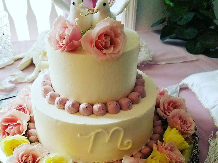 Tmx 1531896166 A0ed3463b5a06812 1531896164 4eb591ebd5854d5b 1531896133613 27 96E478DA 86D1 40B Butte wedding cake
