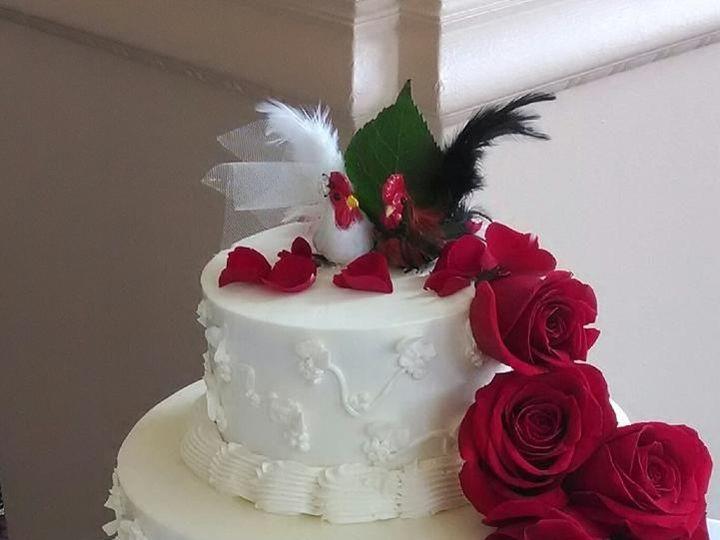 Tmx 1531896170 4869ca05d7b1ee7d 1531896169 Ac07e37333cf3d1a 1531896133614 32 D3A67F79 6478 44E Butte wedding cake