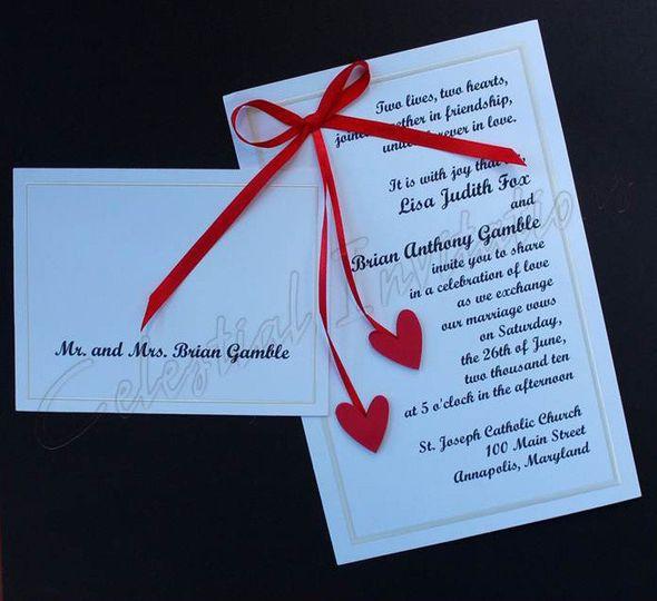 hs invitation and informal