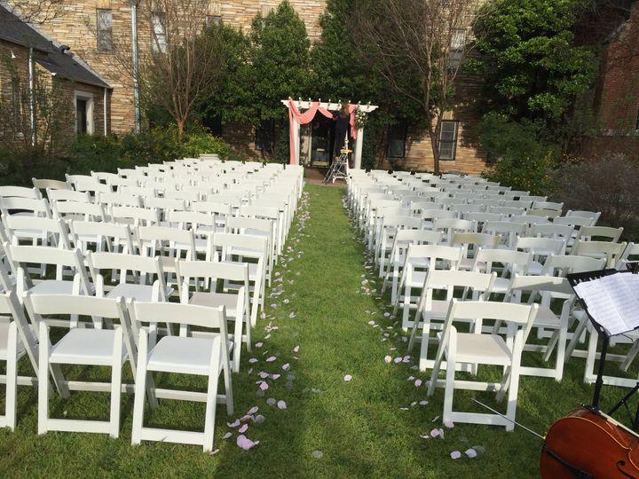 Garden wedding in Fort Worth
