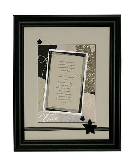 "The size and shape of this large rectangular invitation led me to use a ""portrait"" orientation. This..."