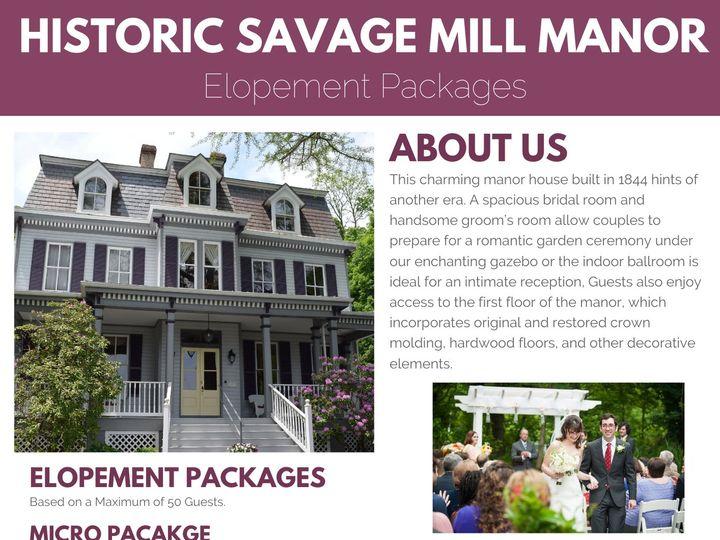 Tmx Manor House Elopment Package 51 163634 159742540115799 Savage wedding venue