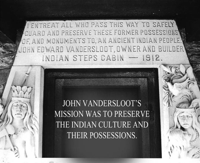 Indian Steps Museum Message