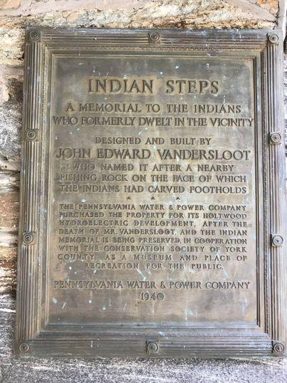 Indian Steps Museum backgroud