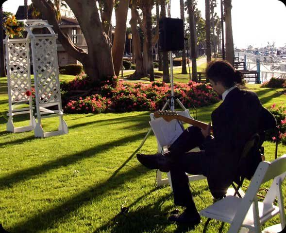 Beautiful, flowing instrumental guitar music. The perfect touch to your perfect event.