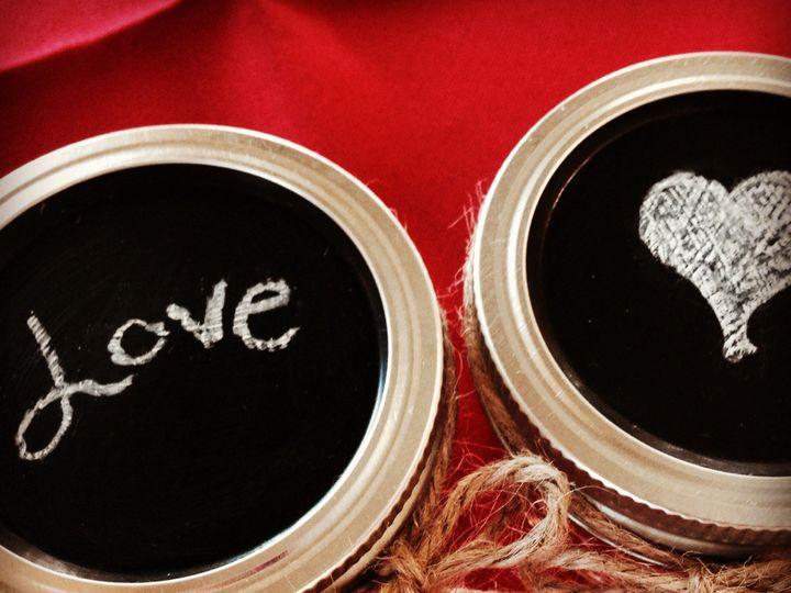 Tmx 1395759927092 Chalkboard Lids  Bridgeport wedding favor