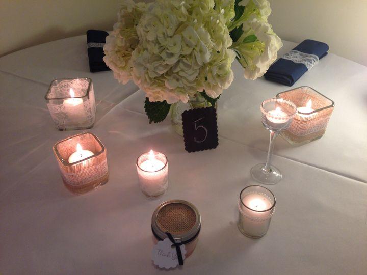Tmx 1395760190569 Burlap Tableset 01 Bridgeport wedding favor