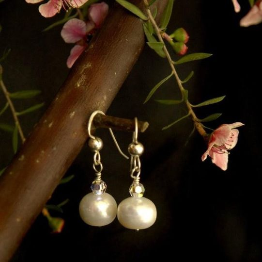 Shimmering in all its glory, these green amethyst earrings are accented with natures most beautiful...