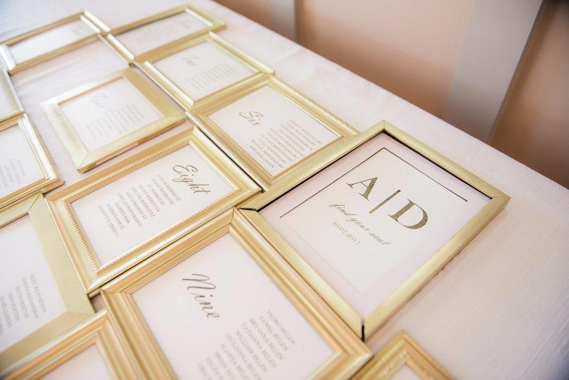 Framed cards