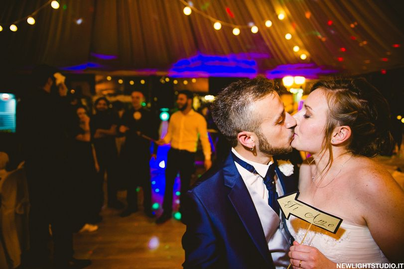 Unforgettable Giulia and Gabriele, madly in love and always enthusiastic.  Their wedding is inspired...