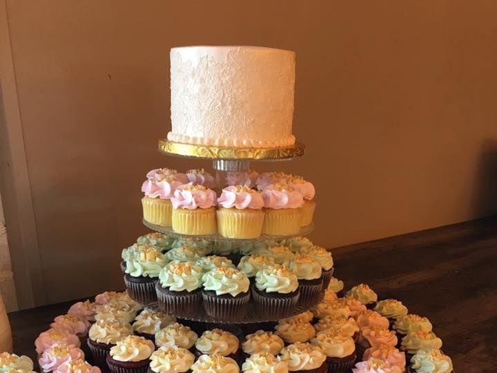 Tmx 1532741287 2402d036f0c6856b 1532741286 610fbfc02abe9450 1532741291429 8 Terrace 167 2 Menomonee Falls, WI wedding cake