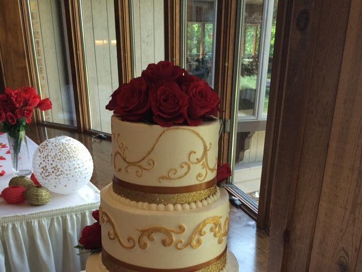 Tmx 2019 Elegant Gold Swirl 51 83734 1565314965 Menomonee Falls, WI wedding cake