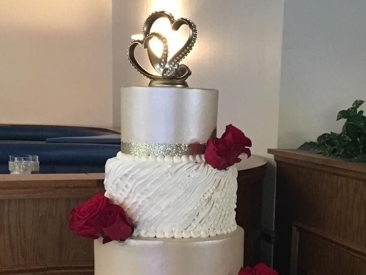 Tmx 2019 Luster Gold And Ruffels 51 83734 1565314970 Menomonee Falls, WI wedding cake