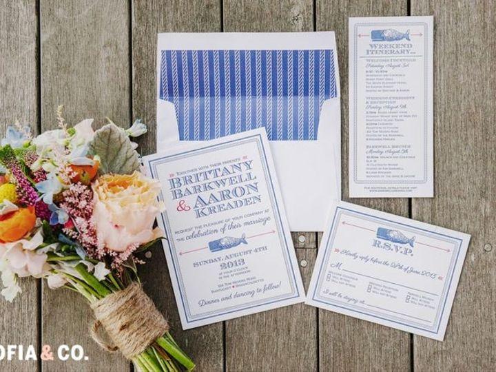 Tmx 1468674831112 Britt And Aaron Brooklyn wedding invitation