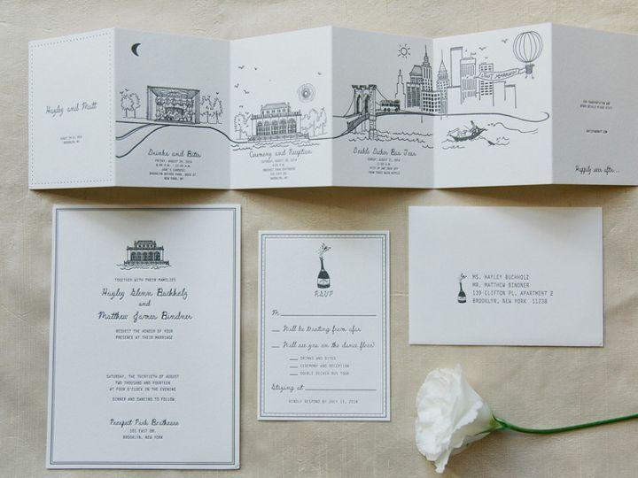 Tmx 1468674987286 Hm1 Brooklyn wedding invitation