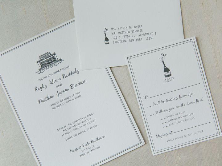 Tmx 1468675044372 Sasithon Photography Hm 1274 Brooklyn wedding invitation