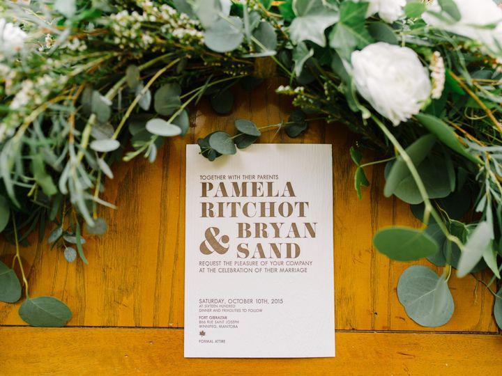 Tmx 1468675142143 Pamela And Bryanwedding 894 Brooklyn wedding invitation