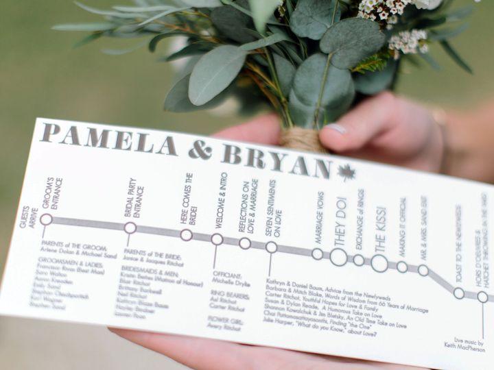 Tmx 1468675212103 Pamela And Bryanwedding 4043 Brooklyn wedding invitation