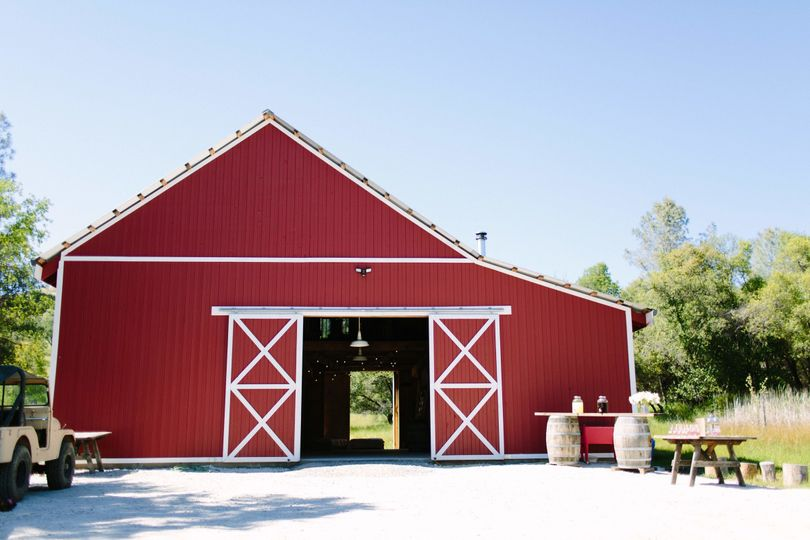 Use the Big Red Barn for the ceremony or reception.