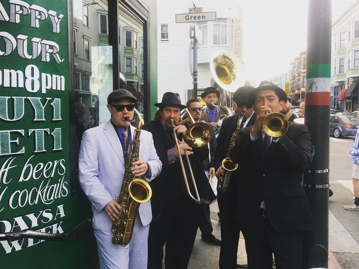 Tmx 1535274895 C8a10780ec3e9701 1535274893 Eeeb53593a4e7c01 1535274883968 4 Brass Band   North San Francisco, CA wedding band