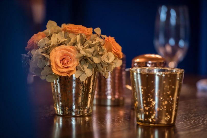 Bouquet table centerpiece