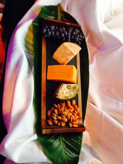 Gourmet Block Cheese Display