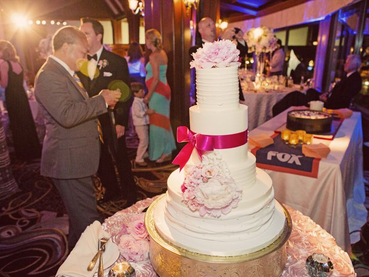 Tmx 1452226292584 Hotel Del Molly  Brendan Tall Wedding Cake Justin  San Diego, California wedding cake