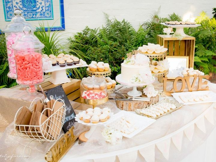 Tmx 1452226731695 Trusty Wedding 2015 Mini Dessert Buffet With Stump San Diego, California wedding cake