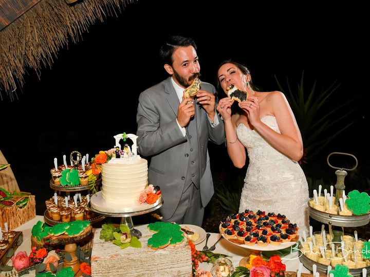 Tmx Stephanie Sam Safari Park Wedding Brant Bender Photos 2 51 109734 1561136137 San Diego, California wedding cake