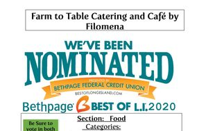 Farm to Table Catering by Filomena