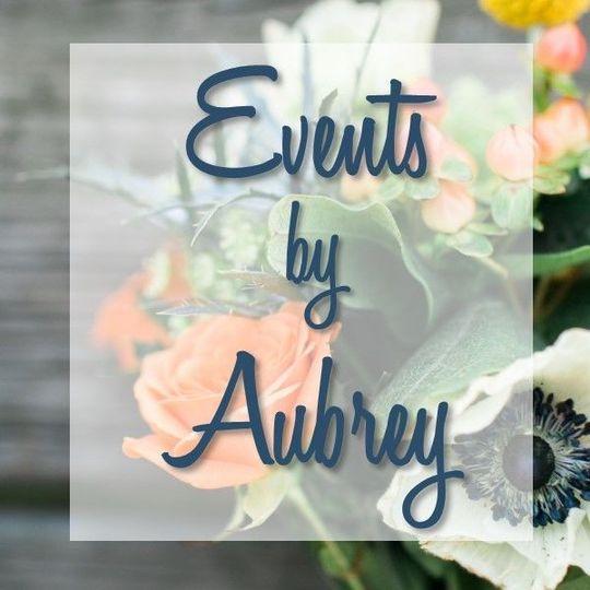 f24e7ba021eb950a Events by Aubrey square logo