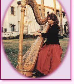 Nelda Etheredge, Harpist