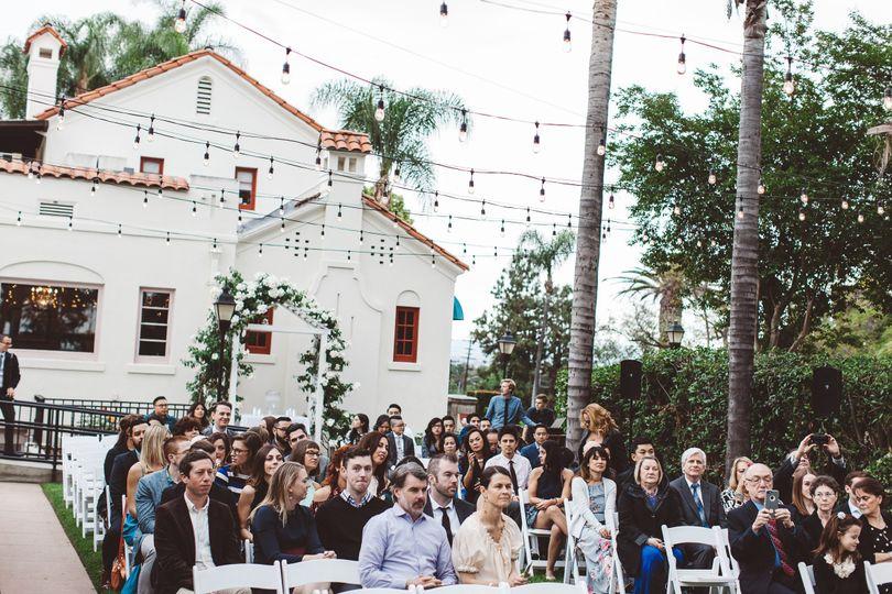 Fullerton museum wedding