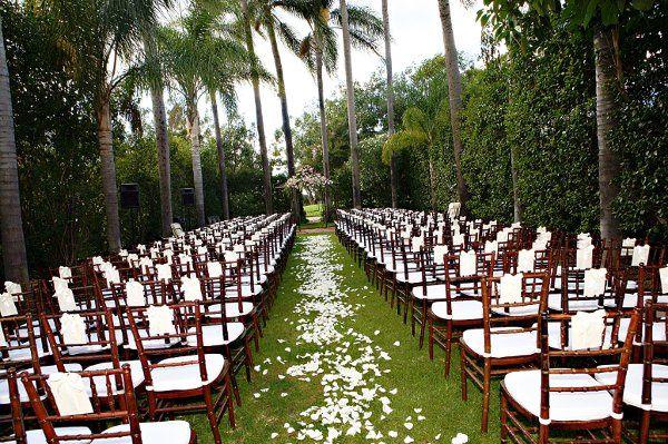 Tmx 1324680514332 CeremonywBrownChivarichairs Fullerton wedding venue