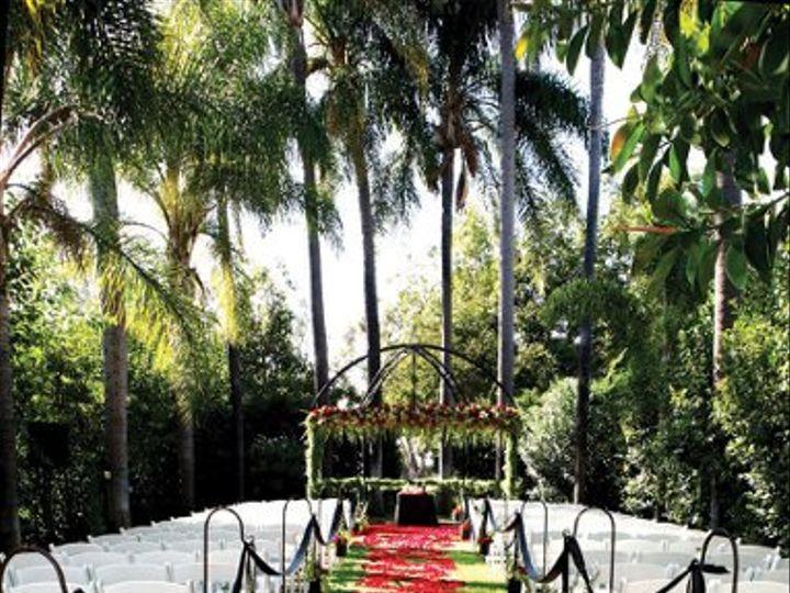 Tmx 1324680796209 ItalianGardenredroseswirlceremony150rgb Fullerton wedding venue