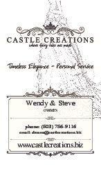 castle creations card