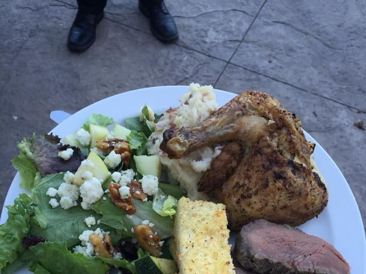 Tmx Tritipchickenmashedpotatoespearsaladsauteedveggiesgarlicbread 51 111834 V1 San Luis Obispo, CA wedding catering
