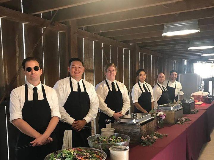 Tmx Whitebarnbuffetstaff 51 111834 V1 San Luis Obispo, CA wedding catering