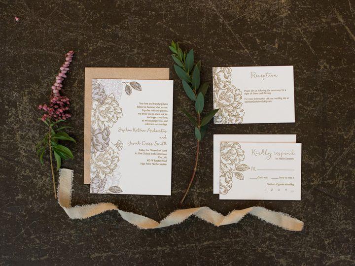 Tmx 1456846833397 Styled Wedding Shoot August 2015 Styled Wedding Sh High Point, NC wedding invitation