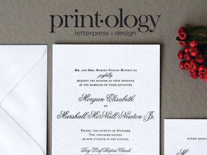 Tmx 1504206614316 1504204012938485773019854969601450017678659o High Point, NC wedding invitation