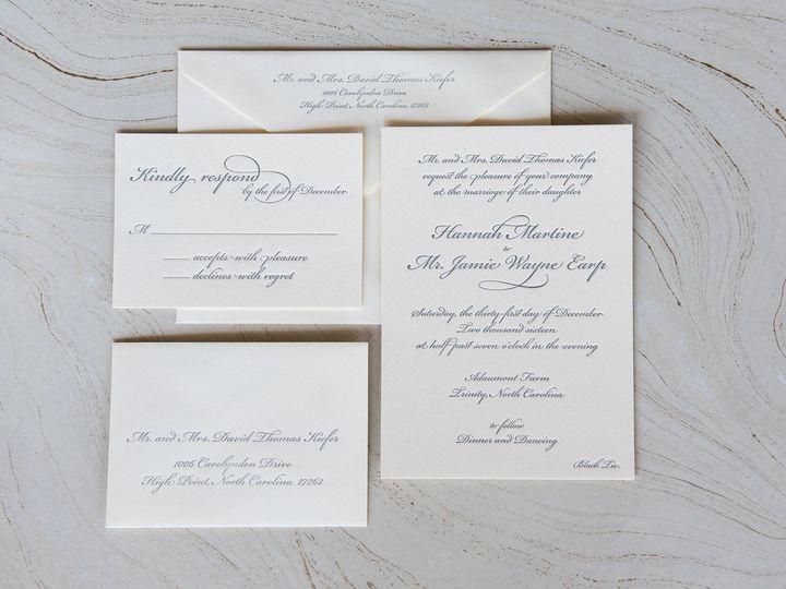 Tmx 1504206615624 1593726513828323717369383596066033255894250o High Point, NC wedding invitation