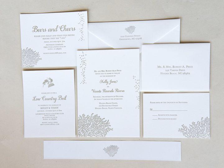 Tmx 1504206925753 Ylp Printology 5 High Point, NC wedding invitation