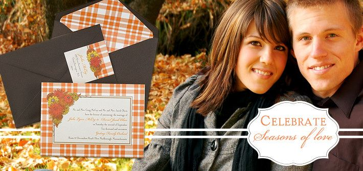 The perfect Invitations for any occasion or time of year.